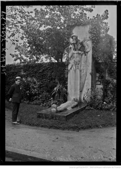Tombe_de_Baudelaire_[cénotaphe_cimetière_[...]Agence_Rol_btv1b53089257r