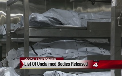 list of the unclaimed