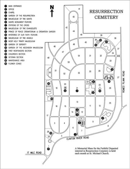 cemetary map